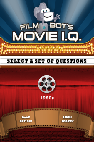 Screenshot 1980s Vol. 1 &#8211; Film Bot Movie I.Q. (FREE)